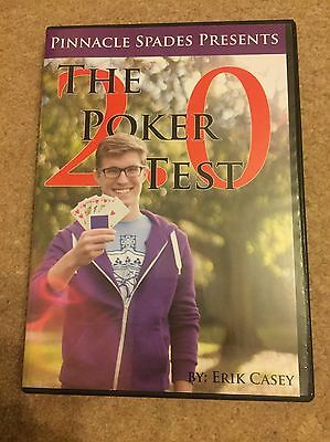 Poker Test 2.0 By Eric Casey Magic Trick DVD