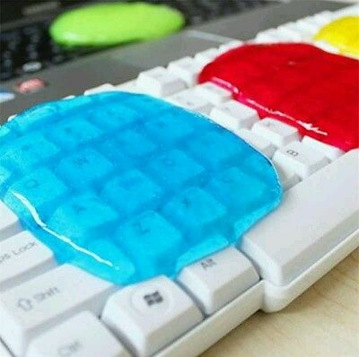 Cleaning Putty Gel Clean Keyboard Phone Desk Laptop Computer Cyber Dust Cleaner