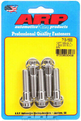 ARP 713-1500 Stainless Steel Bolts 12-Point Head