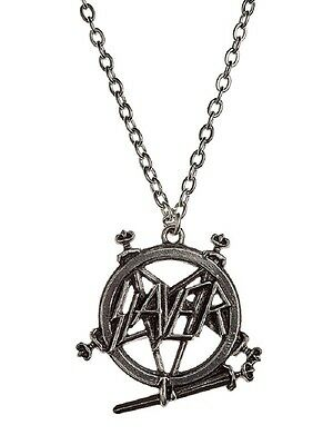 SLAYER Pentagram - Pendant on Metal Chain - ALCHEMY ROCKS (Anhänger + Kette)