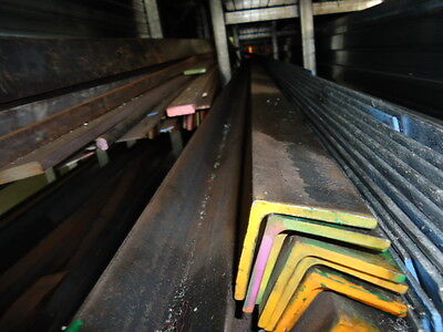 Steel Angle 50 X 50 X 5 Mm @ 7.5 M Lengths (New)