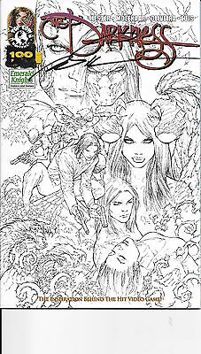 Darkness #  100 Emerald Knights Sketch Cover