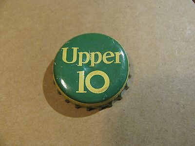 Upper 10 Soda  Bottle Cork Cap  Clean Cap