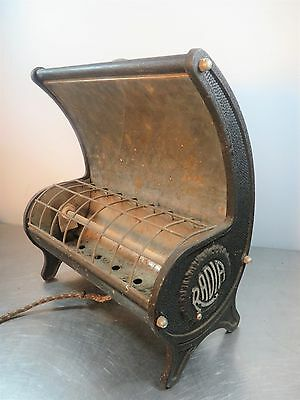 Vintage Metal Portable RADIA Electric Space Heater #212PF  by Shepler Mfg Co.