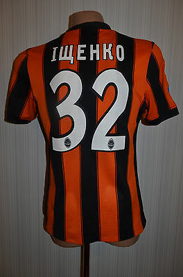 Shakhtar Ukraine Match Un Worn Issue Football Shirt Jersey Trikot #32 Ischenko