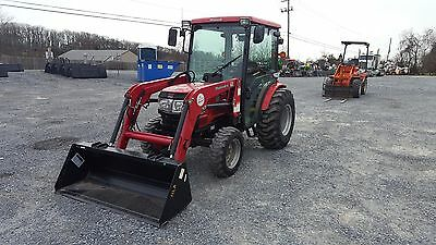 2015 Mahindra 3616 4x4 Compact Tractor w/ Cab & Loader!