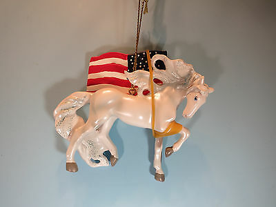 Trail Of Painted Ponies-Unconquered-  Hanging Ornament-New In Box
