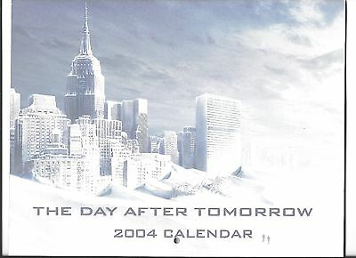 DAY AFTER TOMORROW ~ movie memorabilia HOLO calendar & wall calendar