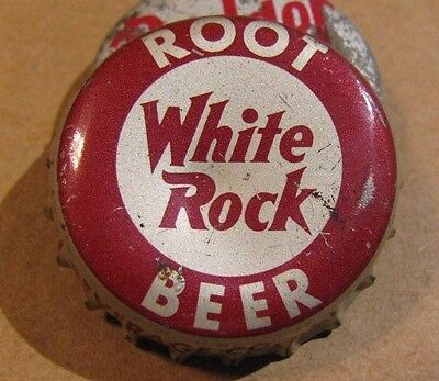 White Rock Root Beer  Soda Cork Bottle  Cap Lynchburg Va  Suburban Beverage Co