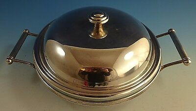 Christofle Silverplate Chafing Dish with Glass Insert (#1445)