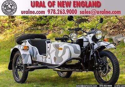 2016 Ural Gear Up 2WD Urban Camo Custom  Reverse Gear Parking Brake Brembo Disc Brakes 2WD Financing & Trades