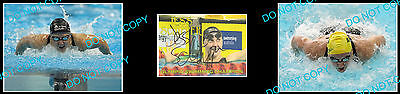 Jess Schipper Australian Olympic Swimming Champion Signed Cover +2 Photos