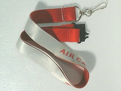 Air Canada Maple Leaf Shadow Staff Lanyard *NEW*