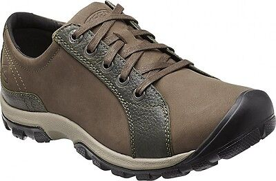 Keen Dawson Lace Mens Walking Hiking Leather Shoes Us 14 32Cm