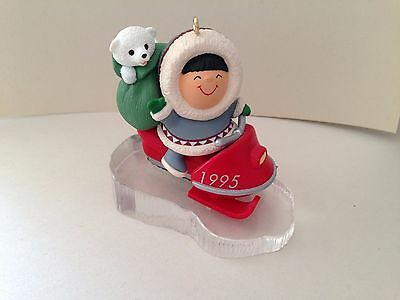 HALLMARK Frosty Friends Ornament 1995 with box.