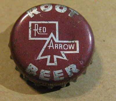 Red Arrow Root Beer Detroit Michigan  Cork Soda Bottle  Cap