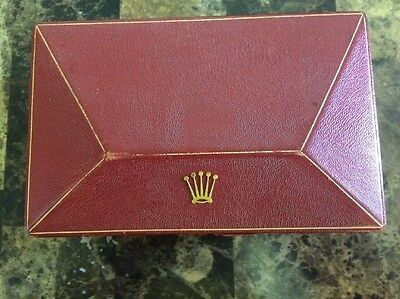 Vintage Rolex Triangle/coffin Red Box 1950's-60's