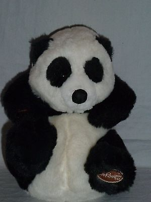 "9"" APPLAUSE PANDA Plush Panda Bear"