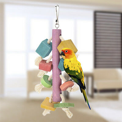 New Pet Birds Budgie Toy for Parrots / Pigeon / Birds grinding their teeth