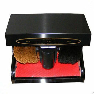 Shoe Polishing Machine Consumer Electronic Gadget Wardrobe Footwear Style Shine