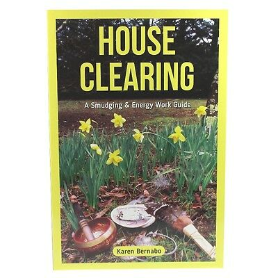 Home Cleanse Spiritual Guide Book for protection FREE smudge sage included