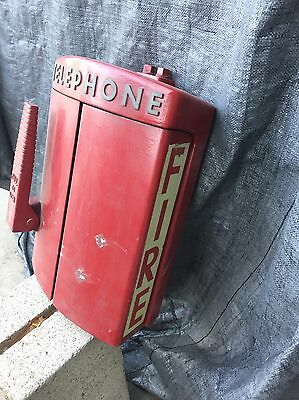 Vintage Western Electric Emergency Telephone Call Box