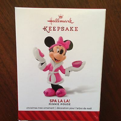 Hallmark 2014 Disney Minnie Mouse Spa La La!