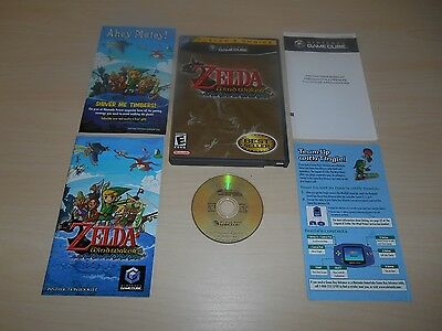 The Legend of Zelda The Wind Waker Complete Nintendo GameCube