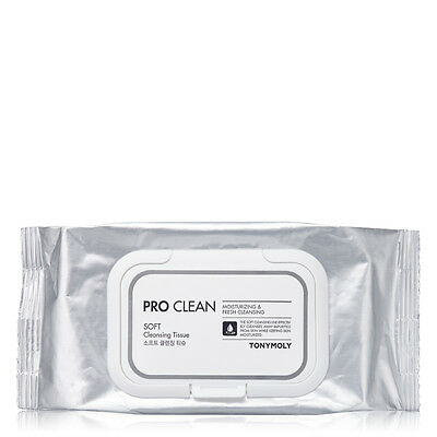 Tonymoly PRO CLEAN SOFT CLEANSING TISSUE (50 SHEETS)