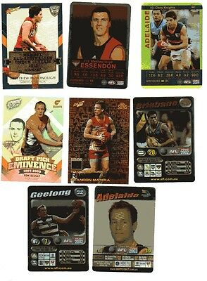 Select / Teamcoach Afl Insert Card Lot