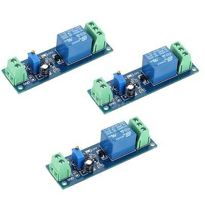 3PCS DC 12V Delay Time Delay-OFF Relay Module Switch Control Cycle Timer F1M5