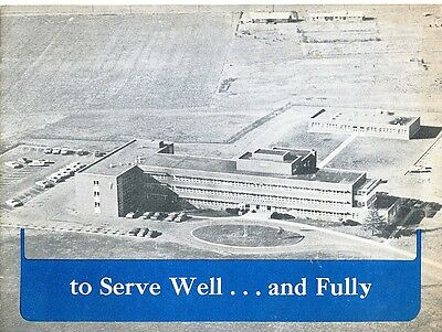 Lewisburg,PA- Evangelical Hospital..to Serve Well-and Fully- 12 pg booklet