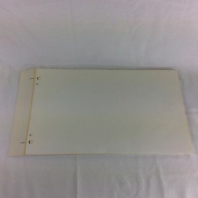 Blank Pages Book Of Remembrance Mormon LDS Family Tree History Genealogy Record