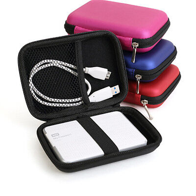 Carry Case Cover Pouch Bag For 2.5 Inch USB External Hard Disk Drive WD  GT