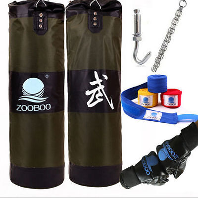 2016 New 100cm MMA Boxing Heavy Punching Training Bag(Empty) With Four Parts Set