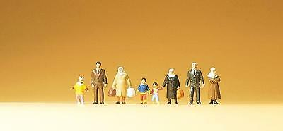 Preiser N Scale Passer by with Children and Luggage - Item # 79108