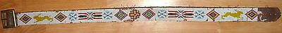 Hand loomed Native American Indian 1920's Beaded Belt Colorado
