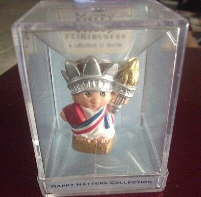 Hallmark Merry Miniatures, Happy Hatters Collection 2000 Libby Crown NIP