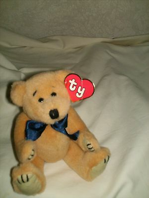 "1St Generation Ty Attic*treasure ""reggie"" 8"" Tall Hang Tag Slightly Creased"