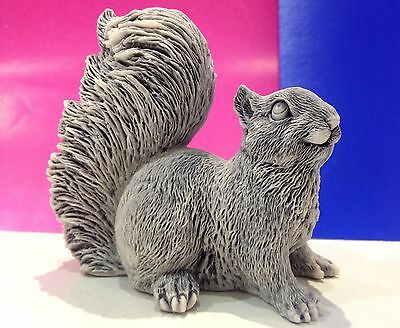 Squirrel  figurine marble chips realistic Souvenirs from Russia