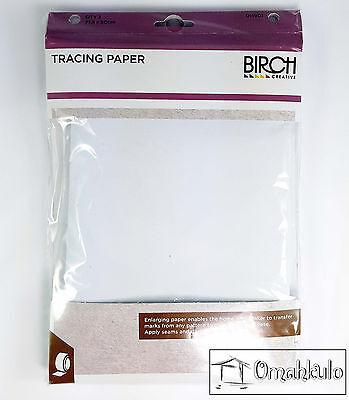 BIRCH - Dressmaking / Dressmakers Tracing Paper -  3 Pack - 715mm X 500mm -*