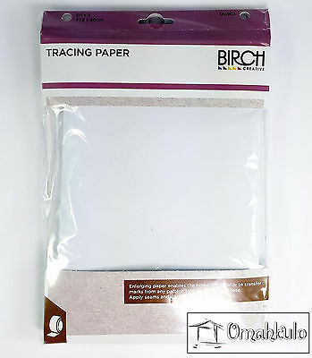 BIRCH - Dressmaking Tracing Paper -  3 Pack - 715mm X 500mm