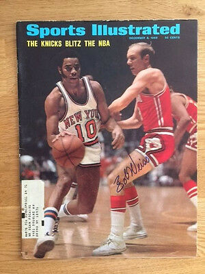 Chicago Bulls Bob Weiss Signed Sports Illustrated W/COA