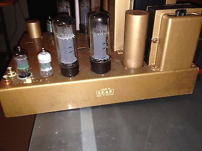 Leak Stereo 50 Valve Amplifier and Point One Valve Preamplifier