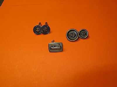Boy Scout Cuff Links, Tie Tack and Buttons