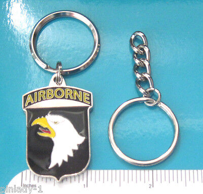 SCREAMING EAGLES Army 101st Airborne - keychain , key ring GIFT BOXED