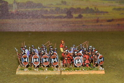 1/100 15mm DPS painted Ancient Mid-Late Imperial Roman Legionary RM007
