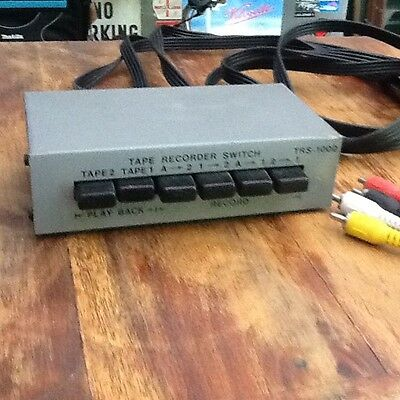 Tape to tape switch box