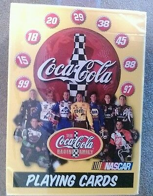 Coca Cola Nascar Bicycle Brand Playing Cards New Unopened