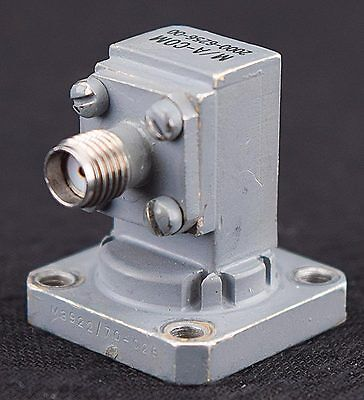 Omni Spectra 2000-6256-00 18-26.5GHz WR-42 Waveguide to SMA RF Coaxial Adapter